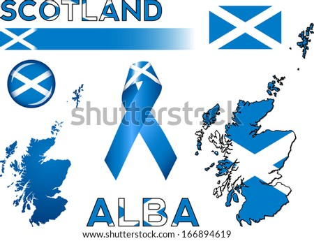 Scottish Highlands Stock Vectors Amp Vector Clip Art