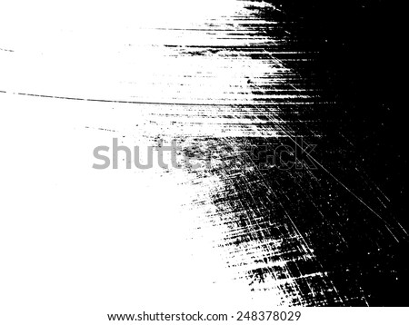 Scratch Distress Sketch Grunge Dirt Damaged Splats Overlay Texture , Simply Place Texture over any Object to Create Grungy Effect .  - stock vector