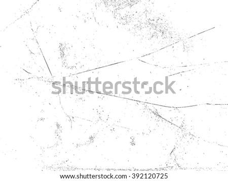 Scratch Grunge Distress Sketch Dirt Overlay Texture. - stock vector