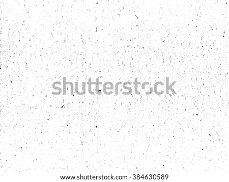 Scratched paper texture. Distressed cardboard texture. Black and white colored grunge background. Wrinkled paper texture overlay. Abstract background. Vector illustration - stock vector