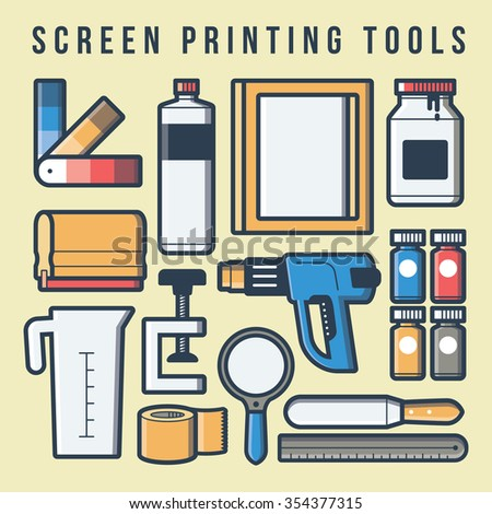 Screen-printing Stock Images, Royalty-Free Images & Vectors ...