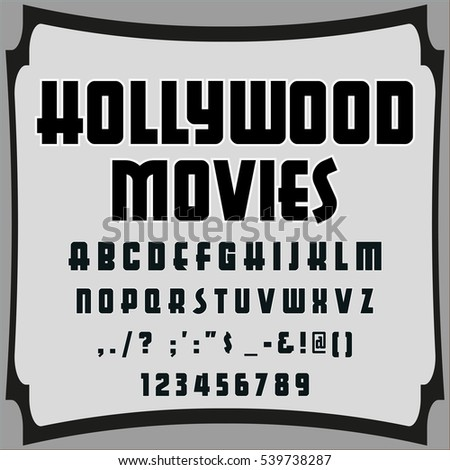 Script Handcrafted Vector Calligraphy Font Typefacevectorlabelsillustrationlettersgrunge