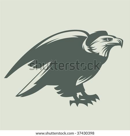Sea Eagle - stock vector
