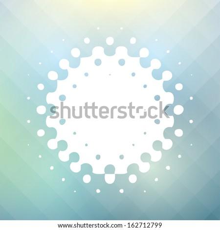 sea. retro abstract background. vector illustration. eps10 - stock vector