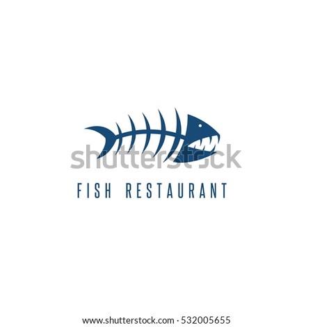 Fish bones stock images royalty free images vectors for Fish bones restaurant