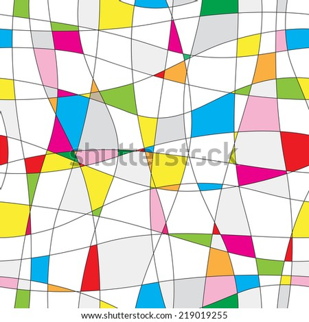seamless abstract background - stock vector