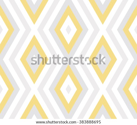 Seamless abstract background with rhombuses. Infinity geometric pattern. Vector illustration. - stock vector