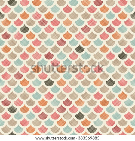 seamless abstract colorful pattern  on texture background - stock vector