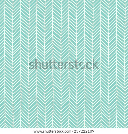 Seamless abstract hand drawn pattern. Vector illustration - stock vector