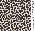 seamless abstract leopard background - stock vector