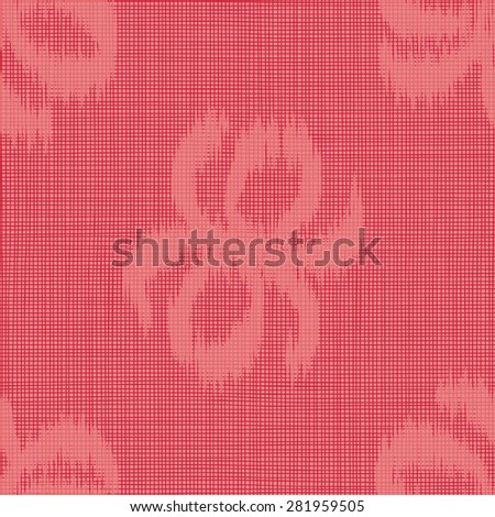 Seamless Abstract Linen Texture Background Pattern