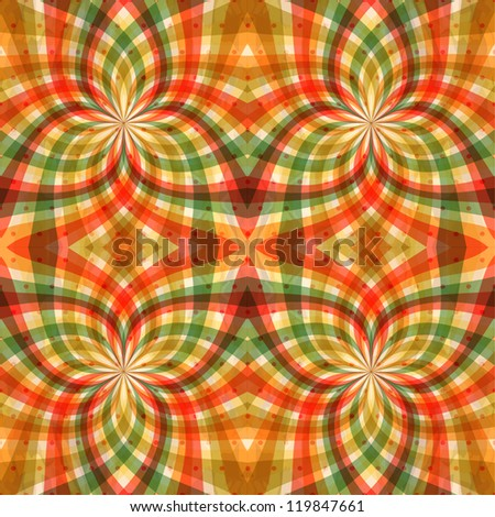 Seamless Abstract Pattern - stock vector