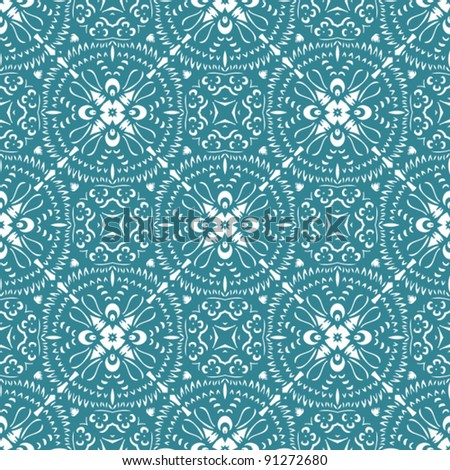 seamless abstract pattern background - stock vector