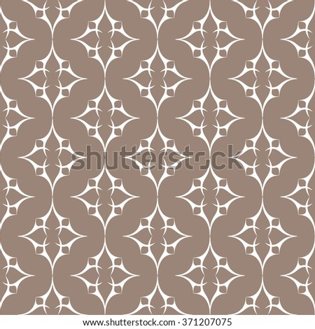 Seamless abstract pattern. Elegant ornate texture in vintage style. Vector illustration. Can be used for wallpaper, textiles, wrapping paper, page fill, design, web page, background. - stock vector