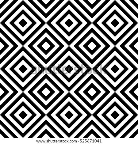 Seamless abstract pattern in black and white