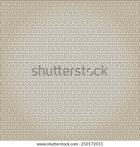Seamless abstract pattern in greek style  - stock vector