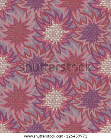 Seamless abstract pattern. Vector illustration - stock vector