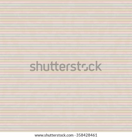 Seamless abstract pattern with horizontal lines. Vintage background - stock vector