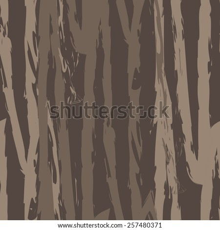Seamless abstract pattern with tree bark-2 - stock vector