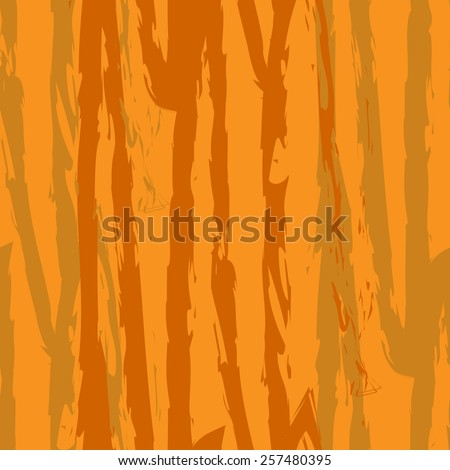 Seamless abstract pattern with tree bark-1 - stock vector