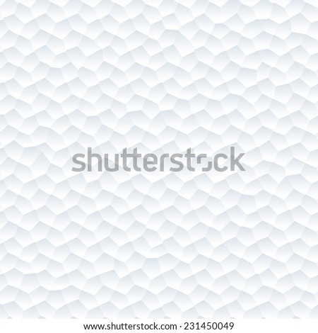 Seamless abstract white background, White texture - stock vector