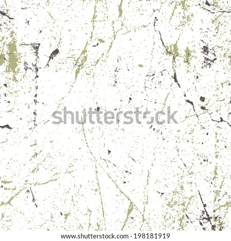 Seamless aged rusty grunge texture, vector background. - stock vector