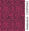 Seamless animal fur pattern - stock photo