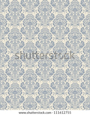 Seamless background blue color - stock vector