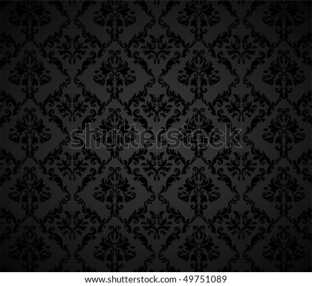 Seamless background for retro design - stock vector