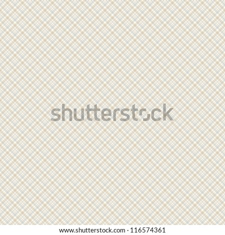 Seamless background of plaid pattern - stock vector