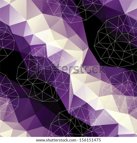 Seamless background pattern. - stock vector