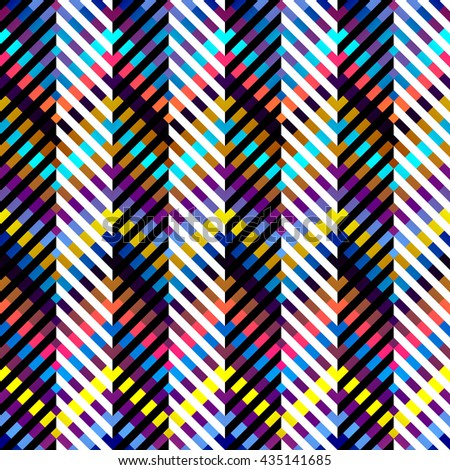 Seamless background pattern. Chevron geometric abstract pattern. - stock vector