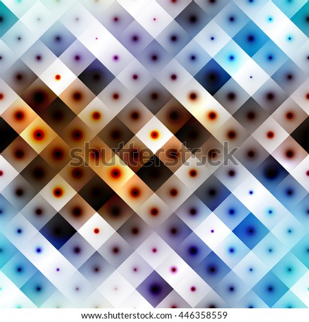 Seamless background pattern. Diagonal white plaid on a gradient background - stock vector