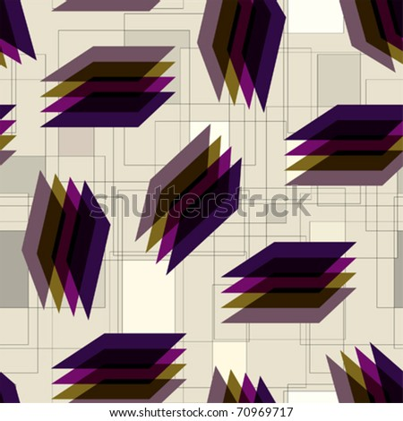 Seamless background pattern. Will tile endlessly. - stock vector