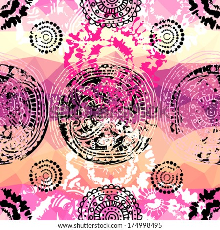 Pink And Purple Tie Dye Background Grunge Pink Pattern in Tie Dye