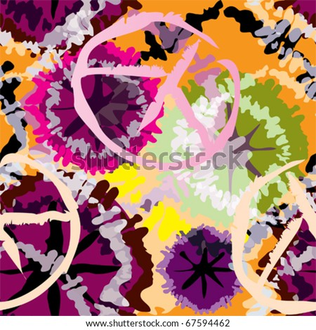 Seamless background pattern. Will tile endlessly. Make without transparency. - stock vector