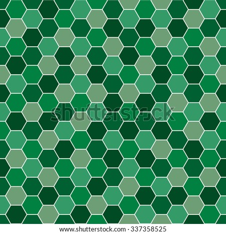 Seamless background pattern with abstract multicolored geometric shapes. - stock vector