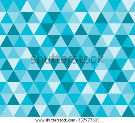 Seamless background pattern with abstract multicolored geometric shapes.