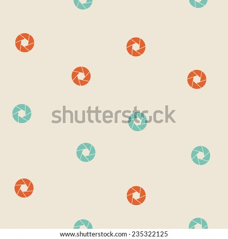 seamless background: photo - stock vector