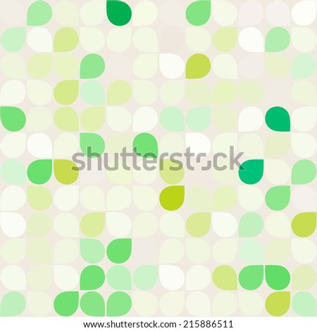 seamless background with abstract geometric shapes for your design  - stock vector