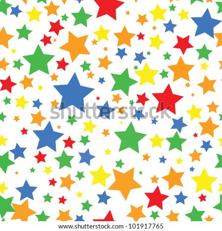 Colorful star border colorful stars stock