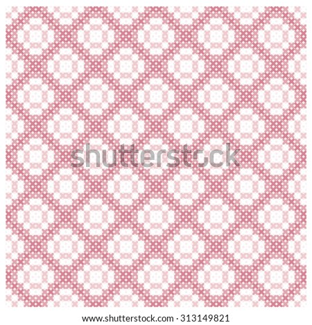 Seamless background with delicate symmetrical ornament pattern for web page backgrounds, textile designs, fills, banners - stock vector