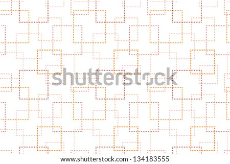 Seamless Background with Geometric Pattern - stock vector