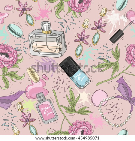 Seamless beauty pattern with accessory, accessory, accessory, accessory, accessory, accessory, accessory, accessory, accessory, accessory, accessory, accessory, accessory, accessory, accessory