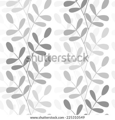 seamless branches - stock vector