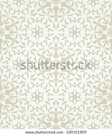 Seamless bright beige abstract pattern with gradient. Vector illustration - stock vector