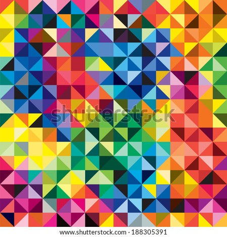 Seamless bright pattern background. Vector illustration. - stock vector