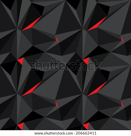 Seamless carbon abstract background. Vector - stock vector