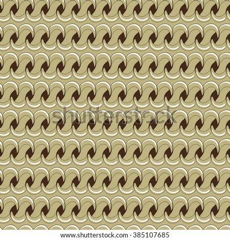 Seamless chain pattern. Vector illustration. - stock vector