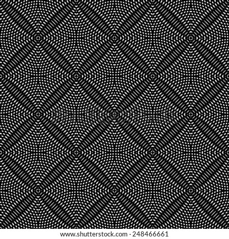 Seamless checked pattern. Vector art. - stock vector